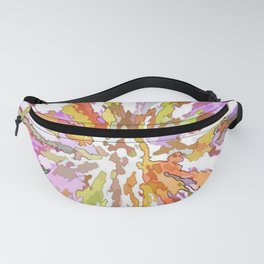 Watercolor Wild Fanny Pack