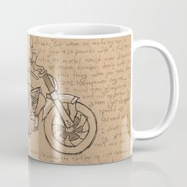Motorcycle Coffee Mug