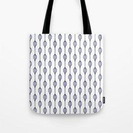 Garlands in Navy Blue Tote Bag