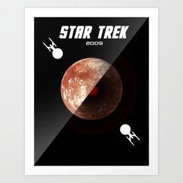 Star Trek 2009 Minimalist Poster Art Print