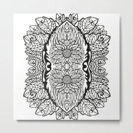 Pattern Flower 2 Metal Print
