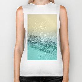 Lemon Twist Beach Glitter #2 #shiny #decor #art #society6 Biker Tank
