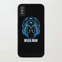 megaman iPhone & iPod Cases featuring MegaMan by Kush Wright
