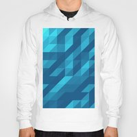 polygon Hoodies featuring Polygon Five by Jambot