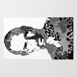 Steve Jobs Doodle Rug