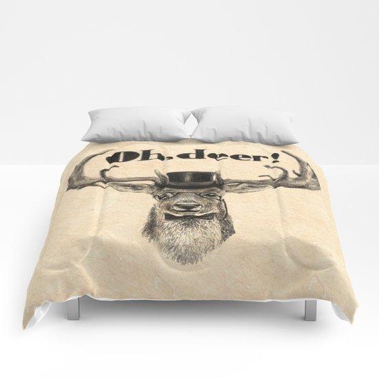 Oh, deer me! Comforters