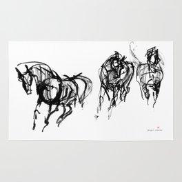 Horses (Trio) Rug