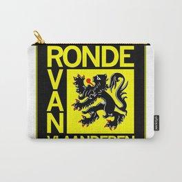 Ronde Van Vlaanderen Tourof Flanders Bicycle Racing Advertising Print Carry-All Pouch
