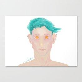 Demon eyes Canvas Print