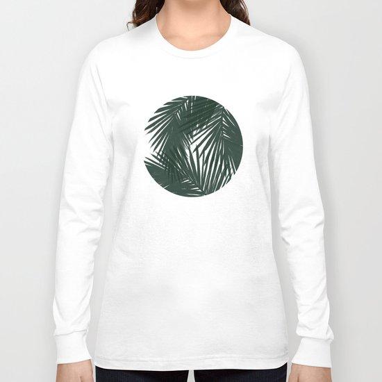 Palms Green Long Sleeve T-shirt