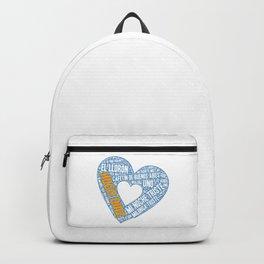 I Heart Hugo Diaz Tango Backpack