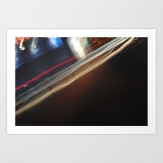 See How They Run. Art Print