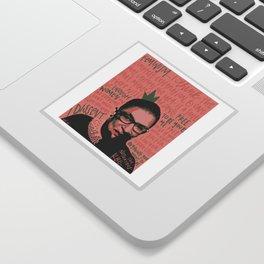 The Notorious RBG. Sticker