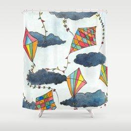 Kites Skies Shower Curtain