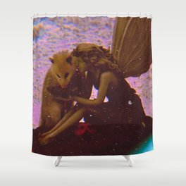 We Might Die (but) First Let's Live Shower Curtain
