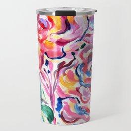 Abstract Roses 1 Travel Mug