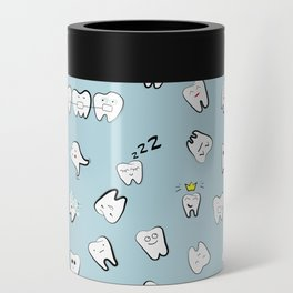 Teeth pattern Can Cooler