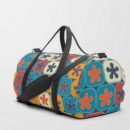 Blobs and tiles Duffle Bag