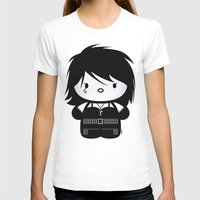 sandman T-shirts featuring Chibi-Fi Death of The Endless by Eozen