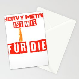 Heavy Metal Beer Festival Concert Funny Gift Stationery Cards