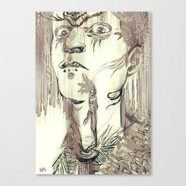 Throat Canvas Print