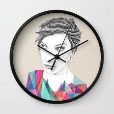Beauté rageuse Wall Clock