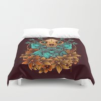 sphynx Duvet Covers featuring Sphynx Cat by Robin Clarijs