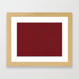 Fraser Tartan Framed Art Print