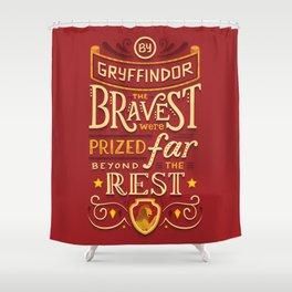 Bravery Shower Curtain