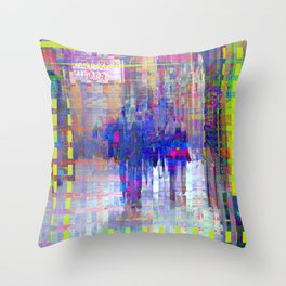 Equations involving a consequence of sequences. 06 Throw Pillow