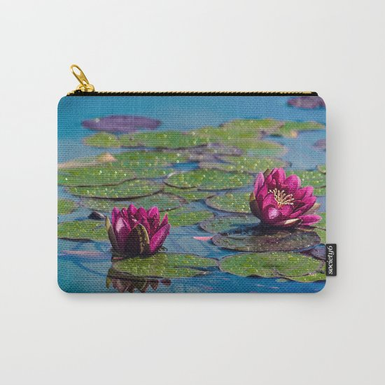 Two water lilies Carry-All Pouch