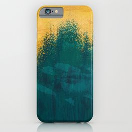 Gold Rush Peacock iPhone Case
