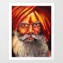 Indian Yogi Art Print