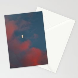 Cloud Bleeding Mars for Moon Stationery Cards