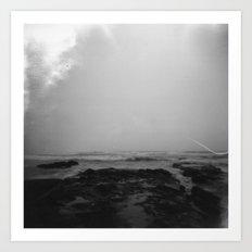 oregon coast . holga Art Print