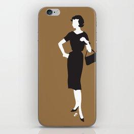 lady 4 iPhone Skin