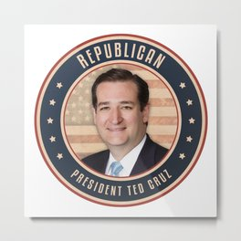 Republican President Ted Cruz Metal Print