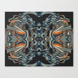 Cuentos de amor de locura y de muerte / 005 Canvas Print