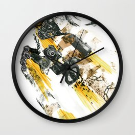Cult of the Fast Machine Wall Clock