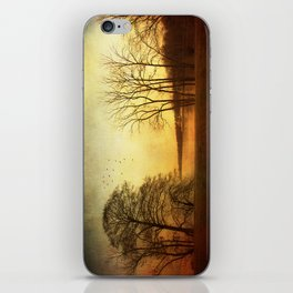 Autumn fever iPhone Skin