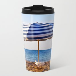Aegean parasol Metal Travel Mug