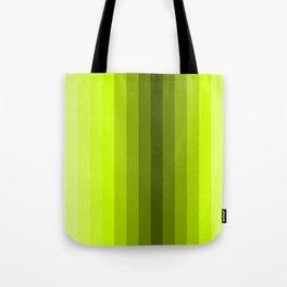 lemon stripes modern patterns Tote Bag