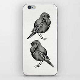 Little Blackbirds iPhone Skin