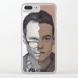Mr Robot Clear iPhone Case