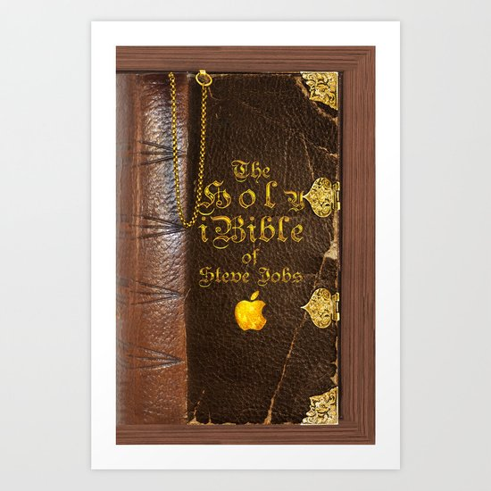 The Holy iBible Art Print