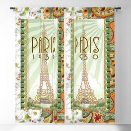 Paris 1930 Blackout Curtain