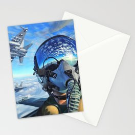 Spanish McDonnell Douglas F/A-18 Hornet Squadron Ultra HD Stationery Cards