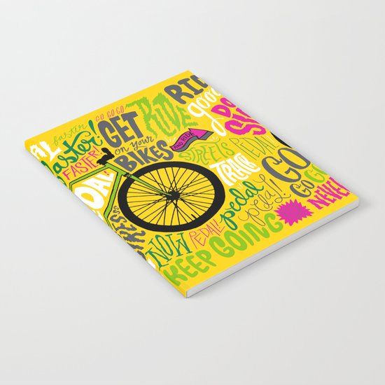 RIDE YOUR BIKES Notebook