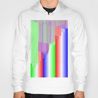 pivot Hoodies featuring R Experiment 3 (quicksort v1) by X's gallery