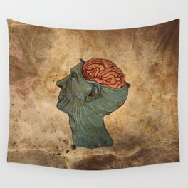 Mind Wide Open Wall Tapestry